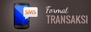 Format Transaksi Pulsa