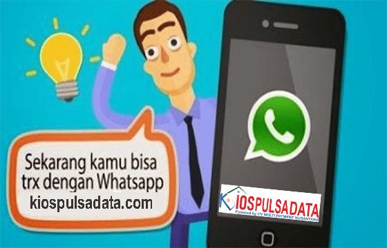 Isi Pulsa Via Whatsapp Di Kios Pulsa Data