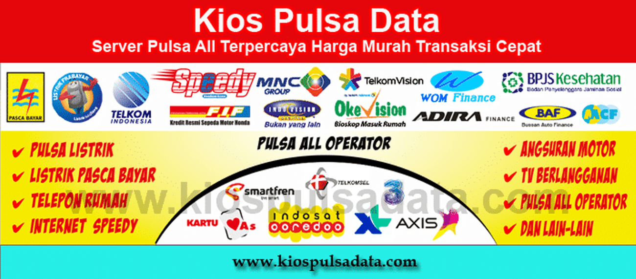 Dealer Pulsa All Operator Terpercaya