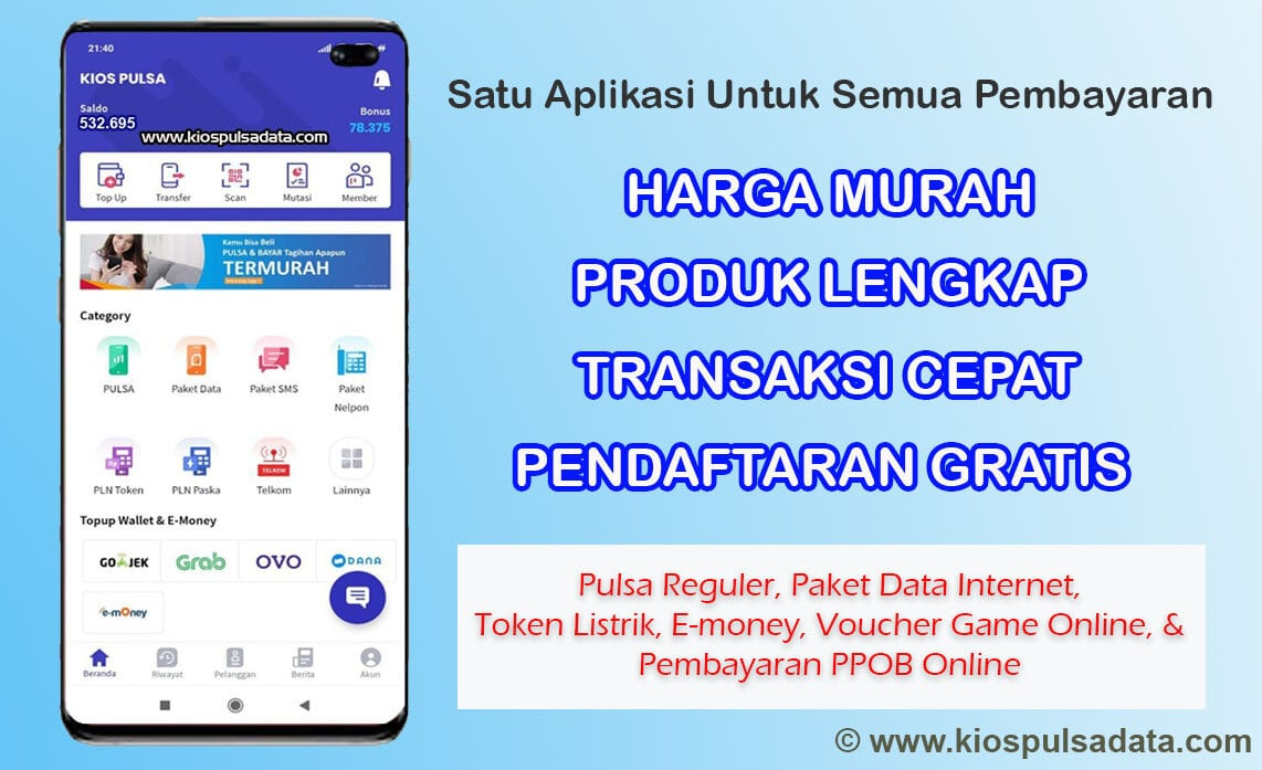 Minimal Top Up Gopay